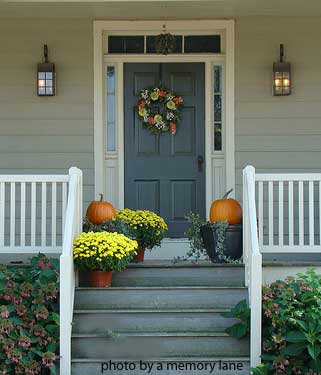 Enjoy All Life Has to Offer!: Front Porches Fall Decor