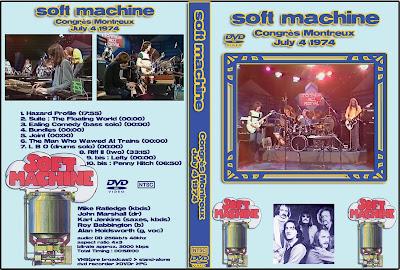 soft machine switzerland 1974