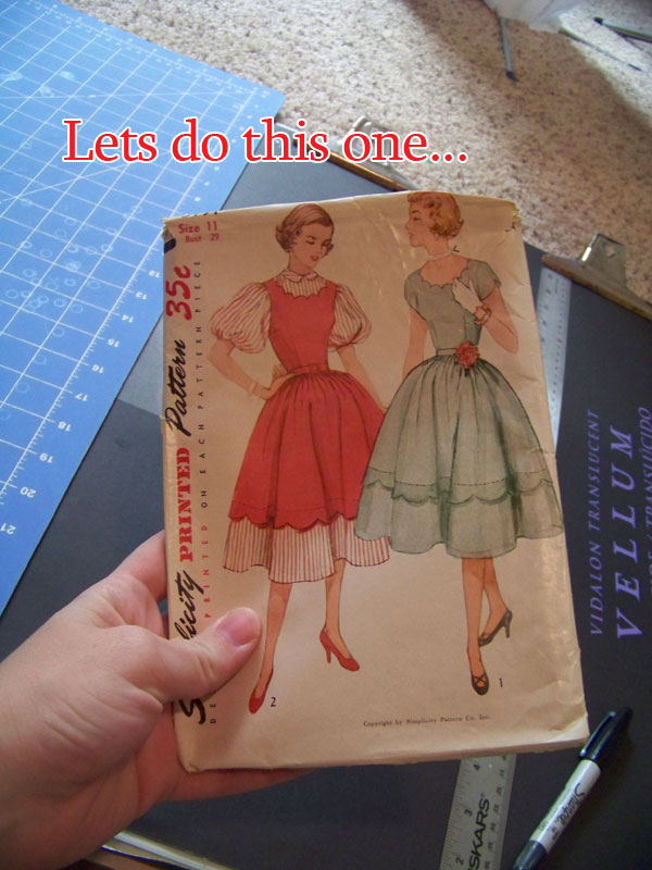 How To: Sizing Up Vintage Patterns For Modern Wear ~ American Duchess