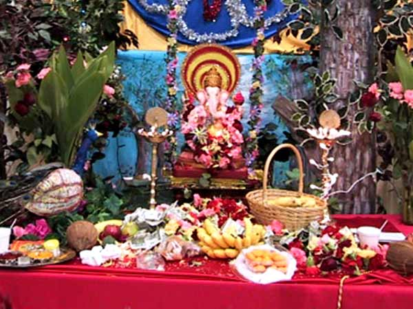 ganesh puja Ganesh puja - lord ganesh is the son of lord shiva and maa shakti he is the first one to be worshipped in hinduism before commencing any puja or starting a new venture.