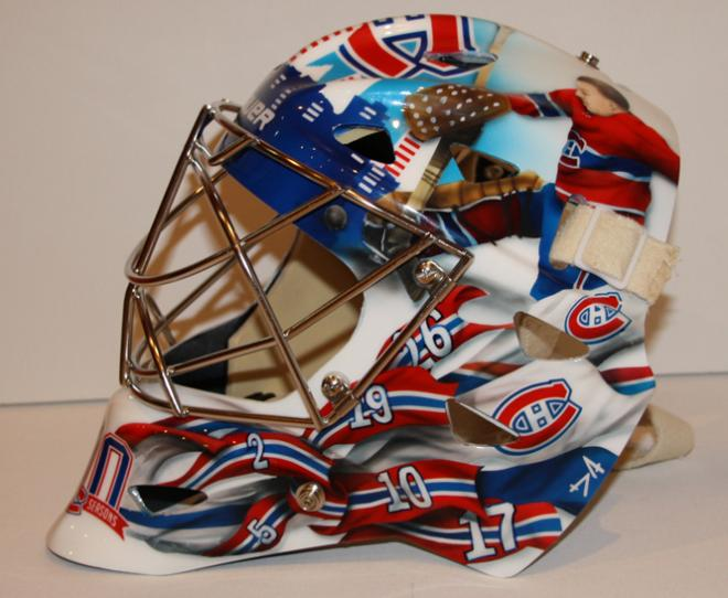 carey price helmet heritage. new carey price mask.