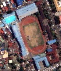 So sieht Google Maps die Arena  mit dem Schwimmstadion