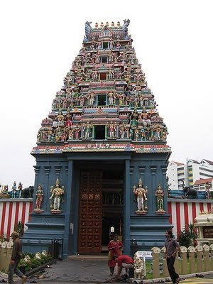 Singapore Temple Picture on Temple Or Sri Perumal Temple  Little India  Serangoon Road  Singapore