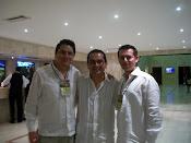 Dr David Campos junto a los Drs Rey y Zambrano, Santa Marta, 2010