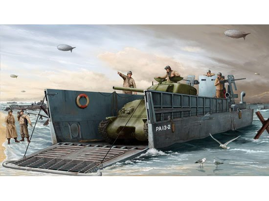 The Third Moment: Robin Hood (spoiler alert) D Day Invasion Boats
