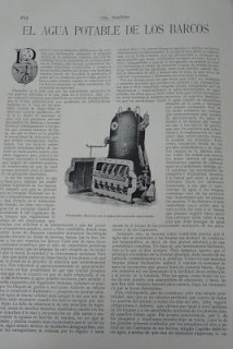 Pàgina de la revista Vida marítima