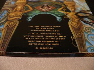 Michael Jackson Dangerous EPC 465802 1 2LP cover