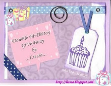 DouBle BirThDay GiveAway by LieSsa.
