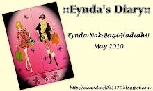 Eynda Nak Bagi Hadiah!!