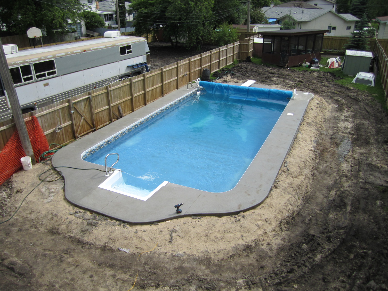 Pictures of 16x32 inground pool joy studio design for Images of inground swimming pools