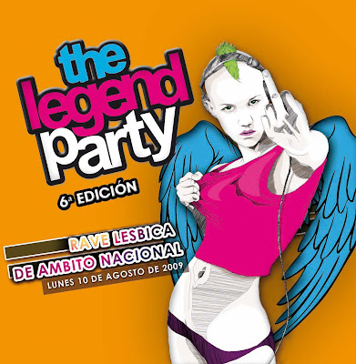 LESBOA PARTY recomenda THE LEGEND PARTY