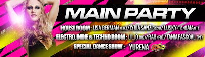 LESBOA PARTY recomenda CIRCUIT MAIN PARTY w/ GUEST DJ Tânia Pascoal