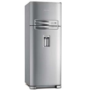 EXTRA: Refrigerador Electrolux Duplex DC49X c/ Dispenser de água   462 L   Inox por R$ 1.999,00
