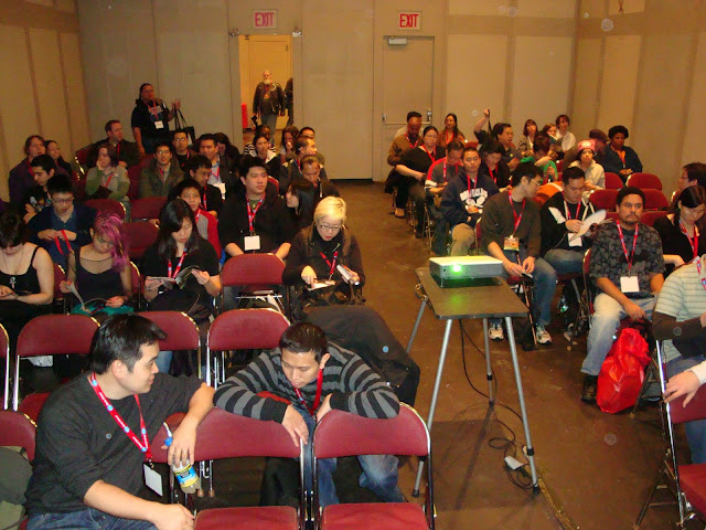 The audience at NYCC's Secret Identities panel. Photo courtesy of Keith Chow.