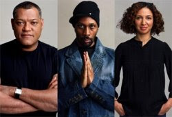 The Black List: Vol. 2 interviewees Laurence Fishburne, RZA and Maya Rudolph