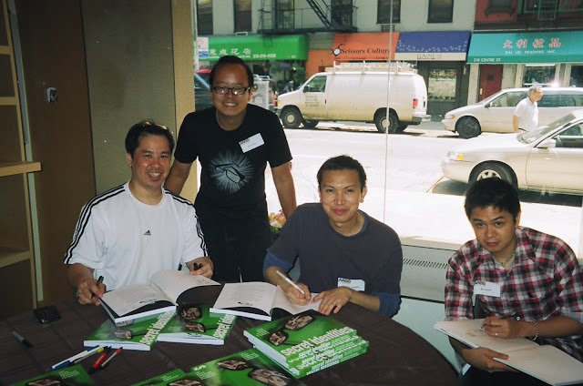 Ken Wong, Jeff Yang, Jimmy J. Aquino and Jef Castro. Photo courtesy of JJA.