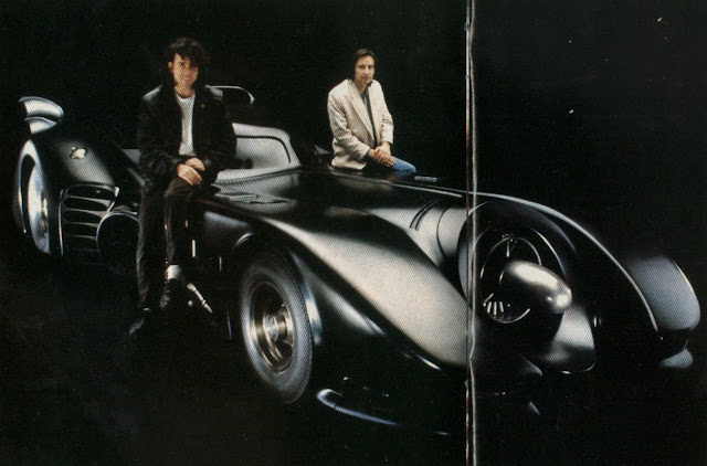 Tim Burton, Anton Furst and some big-dicked Bat car thing