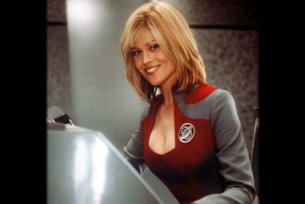 Gwen DeMarco's tendency to repeat the computer's speech mocks the fact that most of the heroes on Star Trek and its various spinoffs are basically half-human, half-parrot.