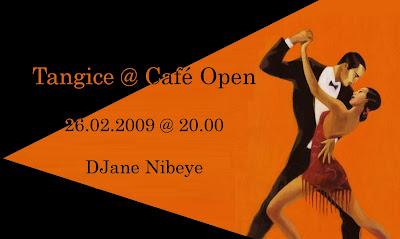Tangice @ Café Open, 26.2. ob 20h