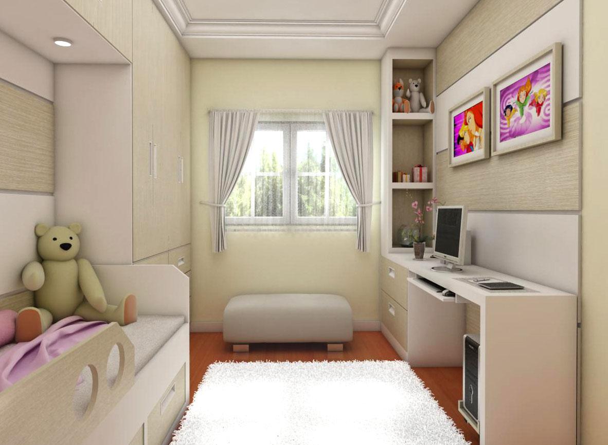 Quarto Planejado Infantil Apartamento Pequeno Redival Com ~ Quarto De Solteiro Planejado Para Apartamento Pequeno