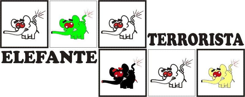 ELEFANTE TERRORISTA 5212 3550