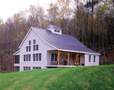 Vermont timber frame homestead