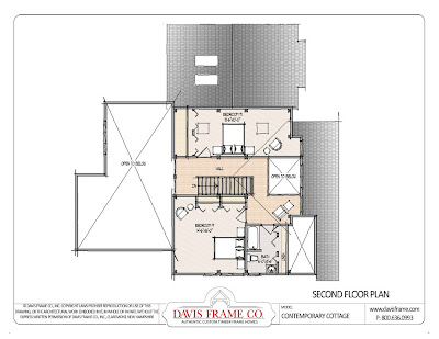 Plan W21091DR: Four-Seasons Cottage