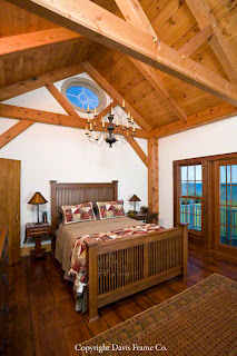 lakefront master bedroom