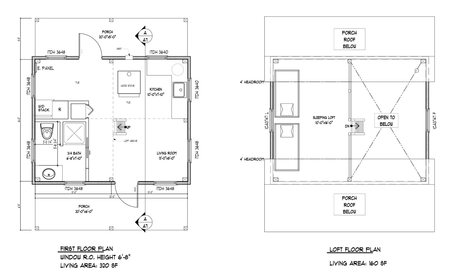 16 x 16 2 story cabin floor plans joy studio design for 20 x 20 cabin plans