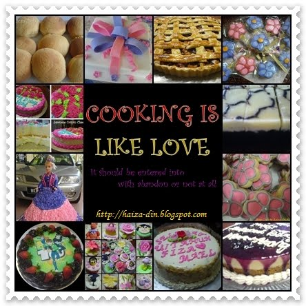 CoOkInG Is LiKe LoVe........
