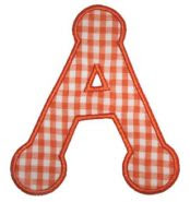 Dotty Alphabet Applique