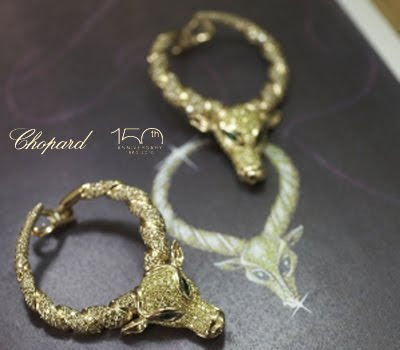 Fashion gossip chopard 39 s 150 unique animal themed collection for Chopard animal world jewelry collection