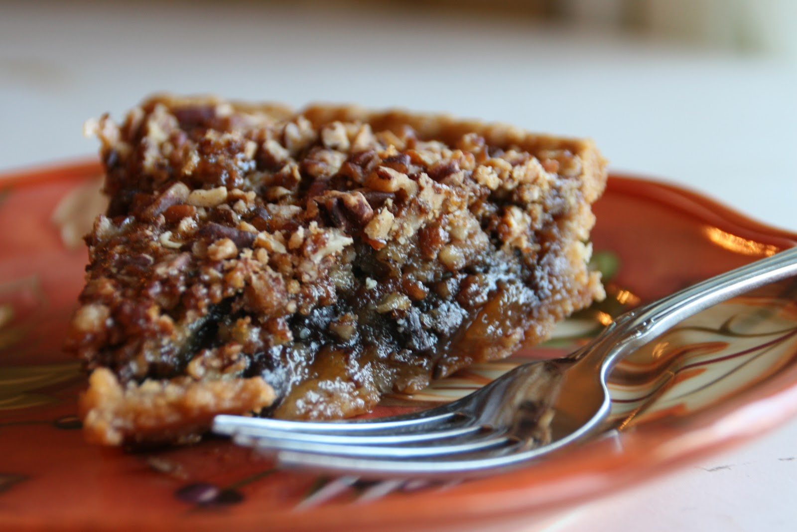 Cooking with Chopin, Living with Elmo: Bittersweet Chocolate Pecan Pie