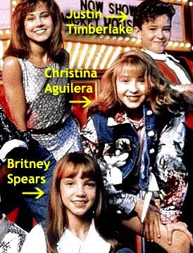 Justin Timberlake  Christina Aguilera on Britney Spears  Justin Timberlake  And Christina Aguilera