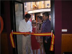 Inauguración de Albero Mendoza