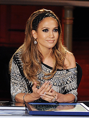 jennifer lopez dresses american idol. hot Jennifer Lopez Gives Good