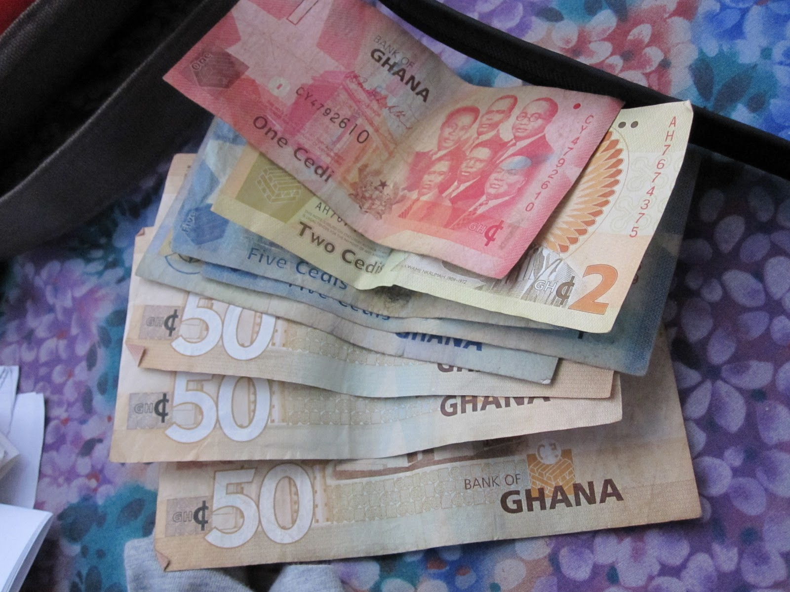 what 6% of 20000 ghana cedis exchange