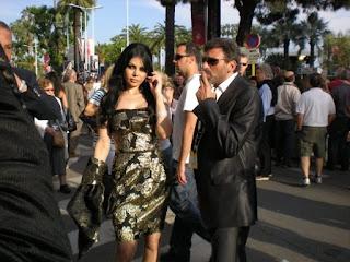haifa wahbi et khaled youssef a cannes