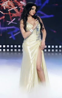 haifa wahbi beautifull leg