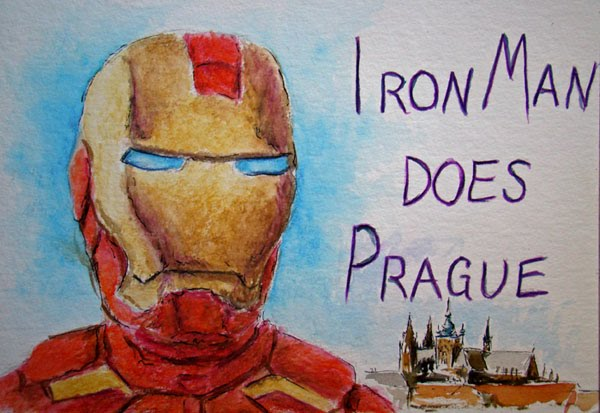 Iron Man Does Prague...and Everything After