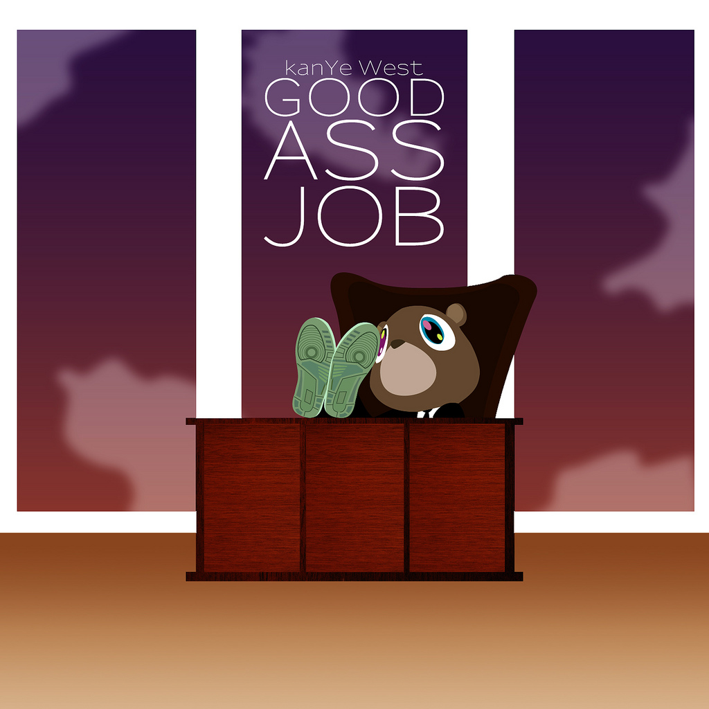 Coverlandia - The #1 Place for Album & Single Cover's: Kanye West - Good  Ass Job (FanMade Album Cover)