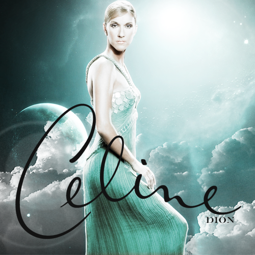 Celine Dion - Celine Dion (FanMade Album Cover). Made by Asad