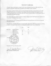 Huntsville Town Council Resolution
