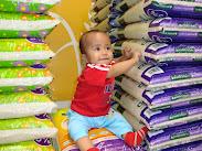 model beras