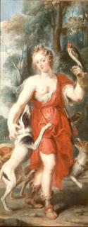Diana cazadora, Rubens