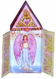 Catholic Activities Free Printable Angel Crafts Advent