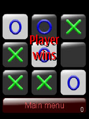 Tic Tac Toe is a free Flash Lite Game