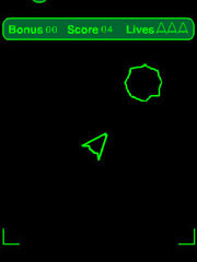 Asteroidz is a free Flash Lite Game for Nokia S60