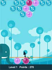 Bubble Elephants  is a free Flash Lite Game for Nokia S60