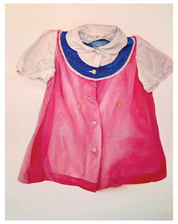 pink childhood dress